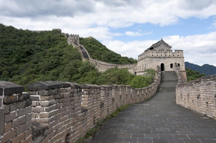 Great Wall at Mutianyu Empty