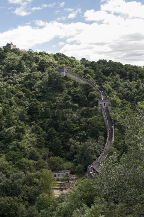 China Great Wall curve