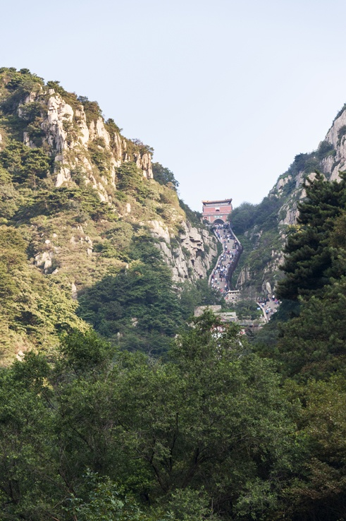 Mount Tai pass