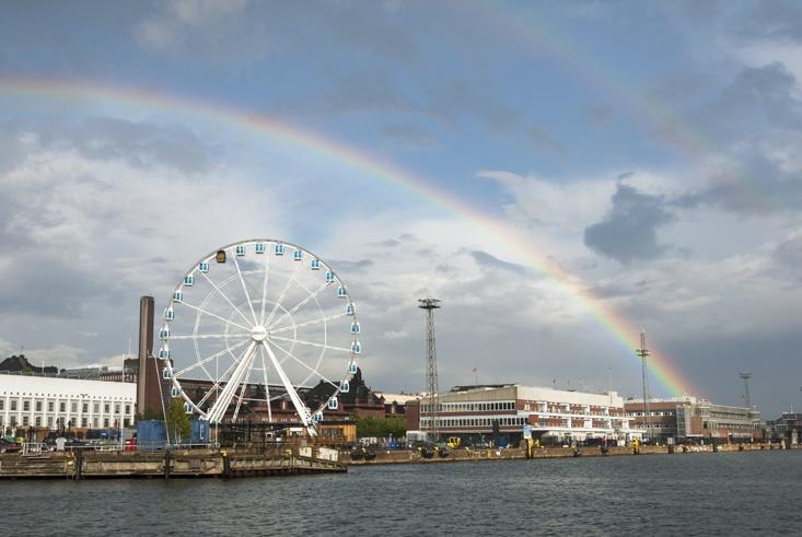 Helsinki Rainbow and Wheel