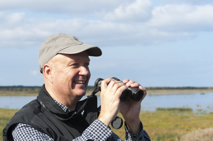 Birdwatching in Liminka Bay Jari Peltomaki