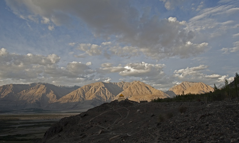 Wild World: A monastery in Nubra Valley, India