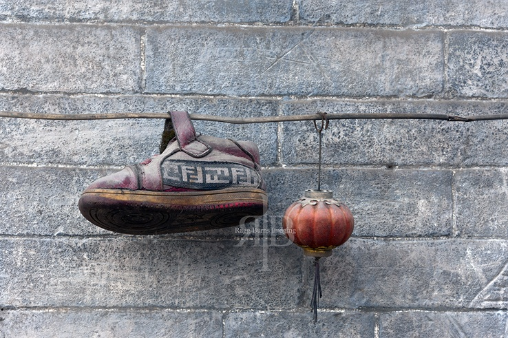 Shoe lantern Pingyao