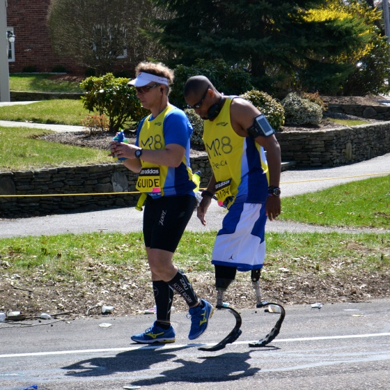 cedric king boston marathon