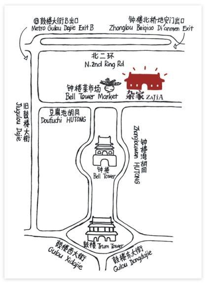 Map to Zajia Lab