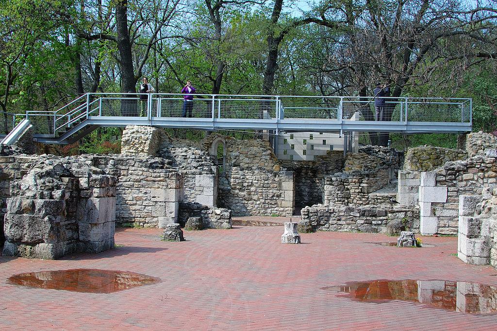 Margaret Island ruins