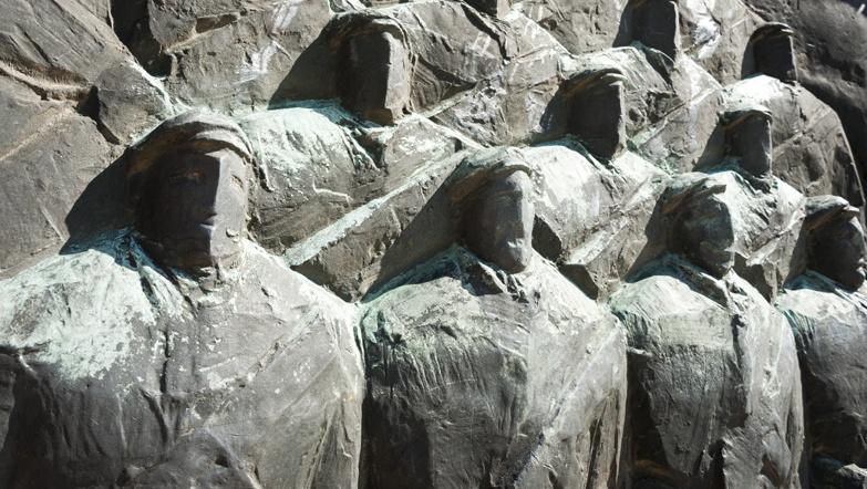 Budapest Memento park faces