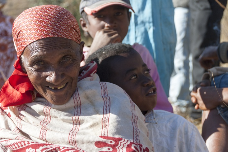 Famadihana Old Lady