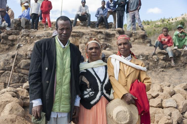 Malagasy family madagascar