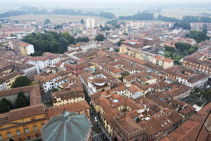 Cremona From Above torrazzo