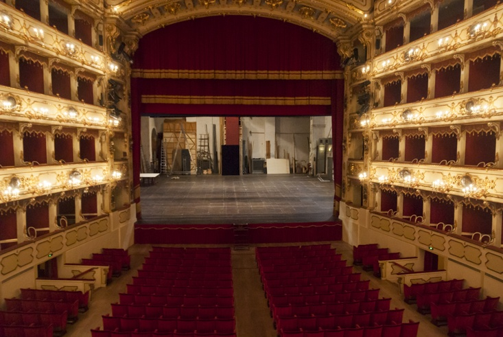 Ponchielli Theatre inside