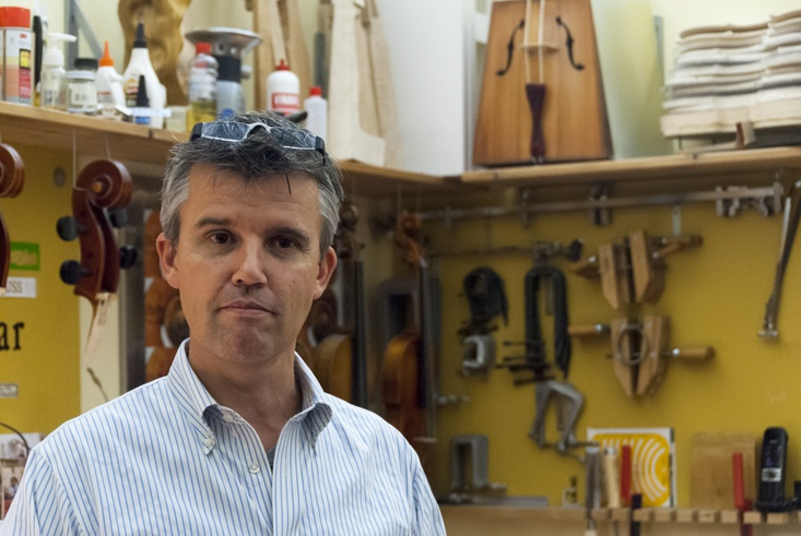 Edgar russ violin maker