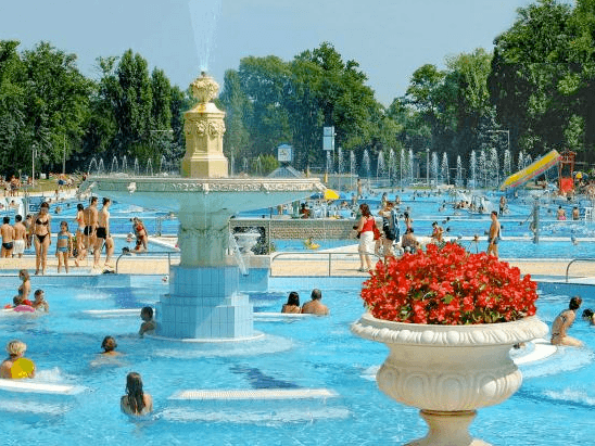 Margaret Island Palatinus bath