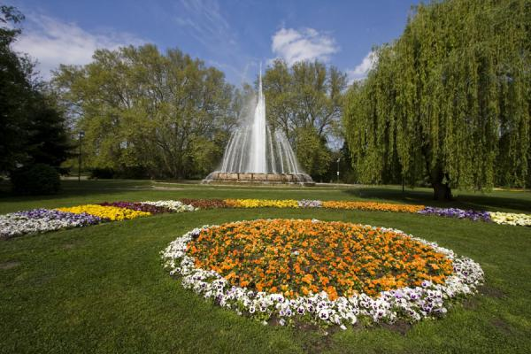 Margaret Island fountain