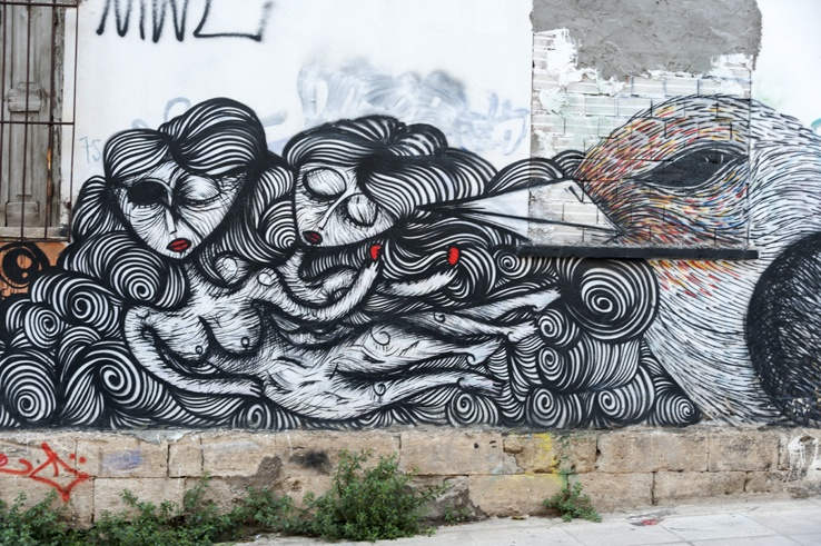 Athens Street Art sonke