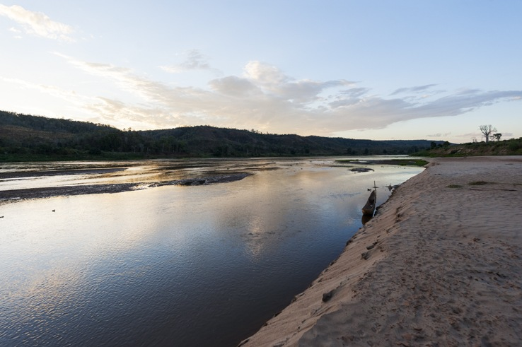 Madagascar Tsiribihina River sunset