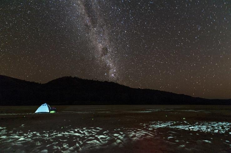 Madagascar Tsiribihina River Milky Way