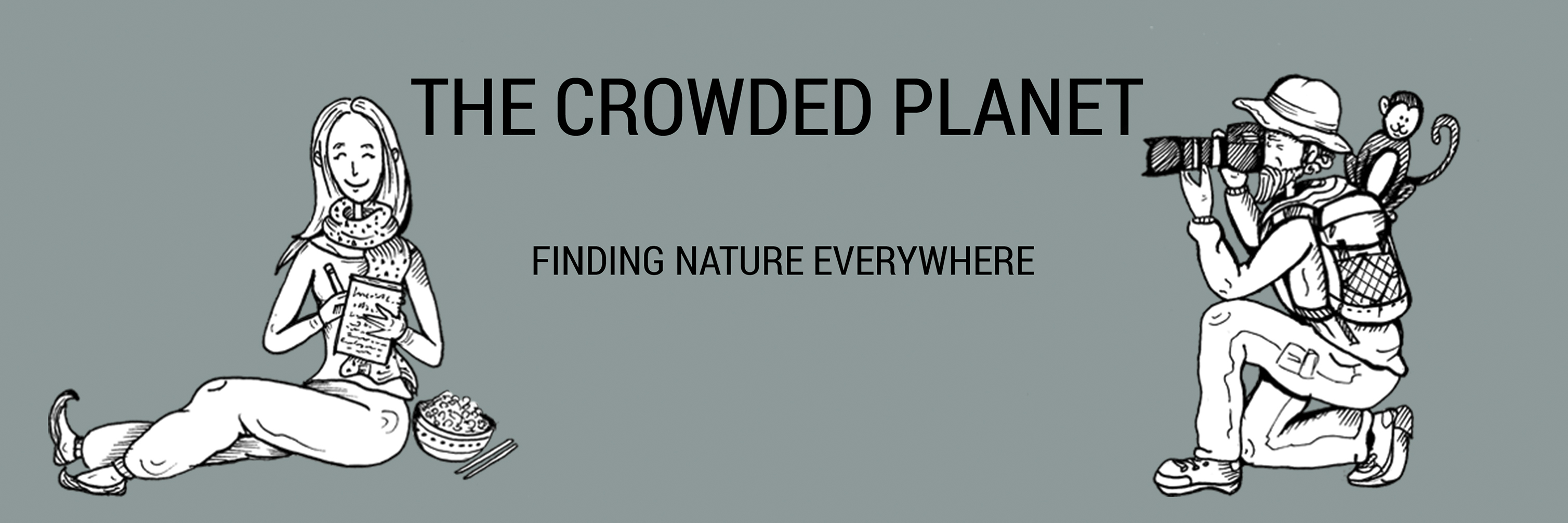 The Crowded Planet logo