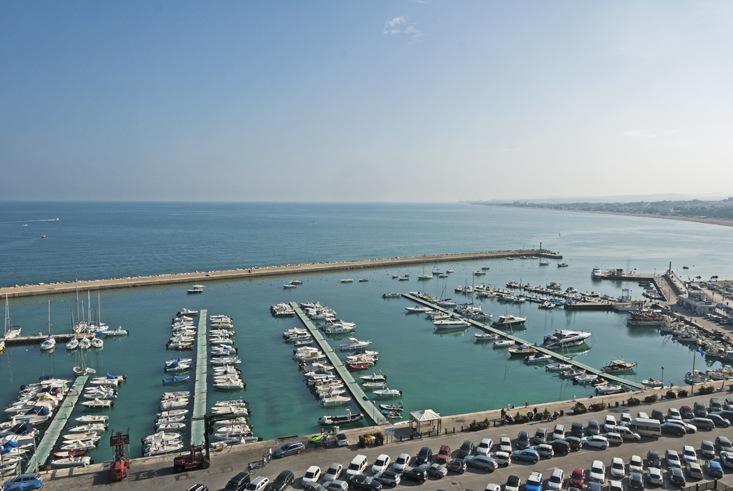 numana harbour