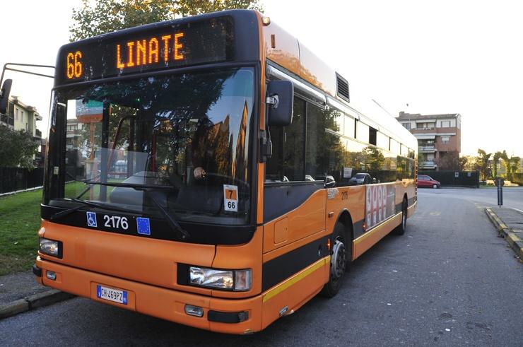 public transport milan bus