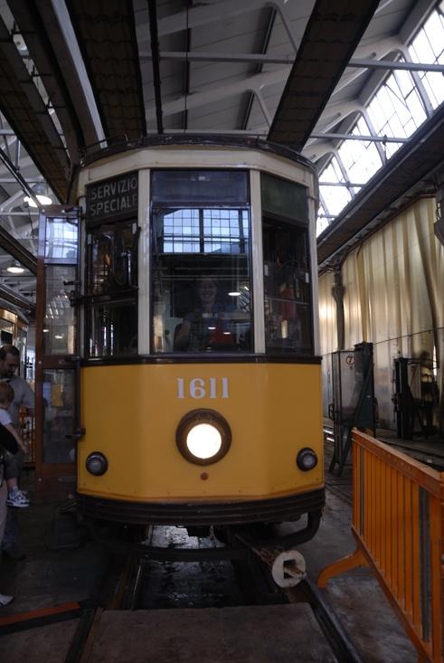 depot tram milan