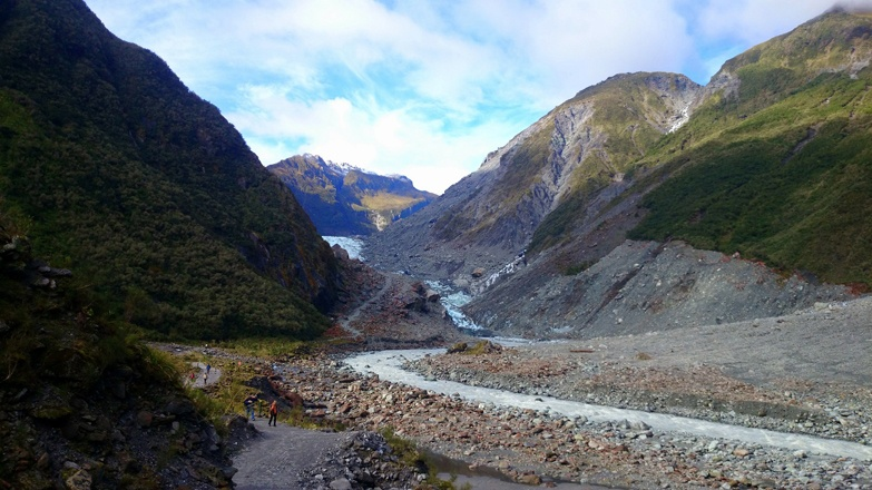 fox glacier valley new zealand