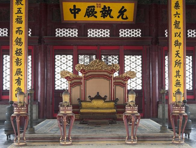 forbidden city beijing chair