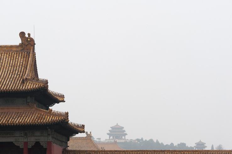 forbidden city beijing view