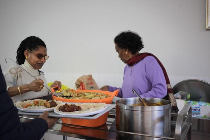 eritrean community in milan lunch