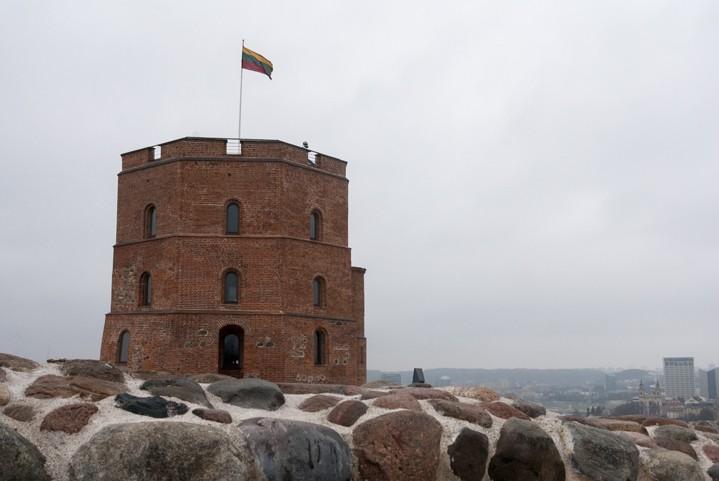 Lithuania Vilnius gediminas tower