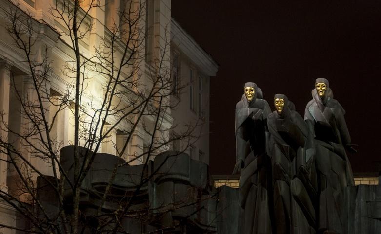 Lithuania Vilnius night death eaters