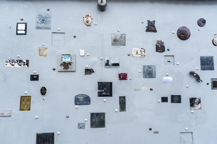Lithuania Vilnius Literary Wall
