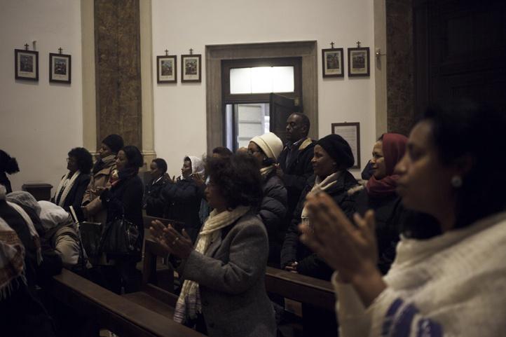 eritrean community in milan mass