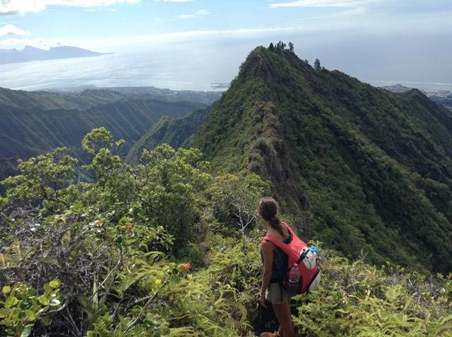 tahiti mount aorai hike