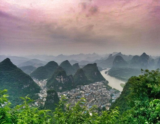 Yangshuo Tv Tower hike