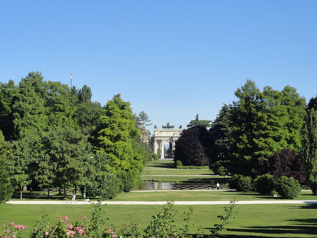 arco della pace parco sempione