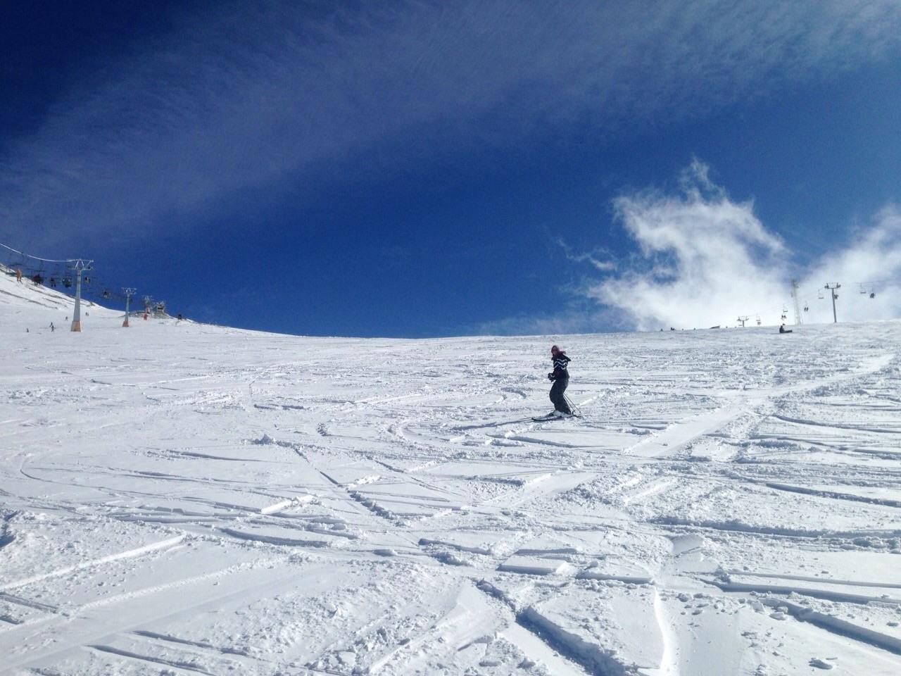 marghe tochal iran ski slope