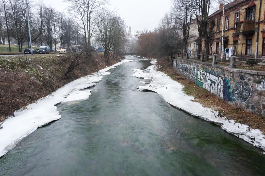 lithuania vilnius vilnele river