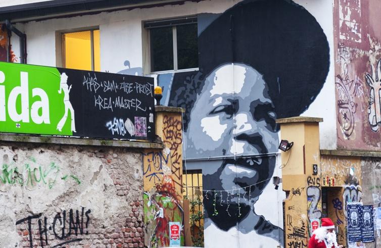 Milan Street Art zibe big arnold