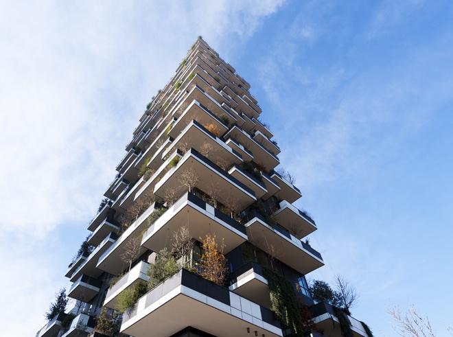 Milano bosco verticale isola