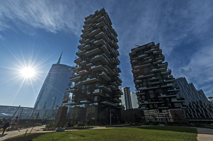 Milano bosco verticale unicredit
