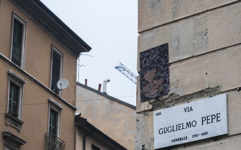 Milano Street Art Via Pepe