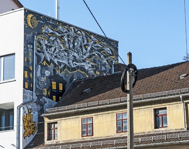 street art Dresden Germany