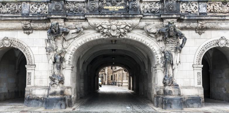 Entrance to the Fürstenzug