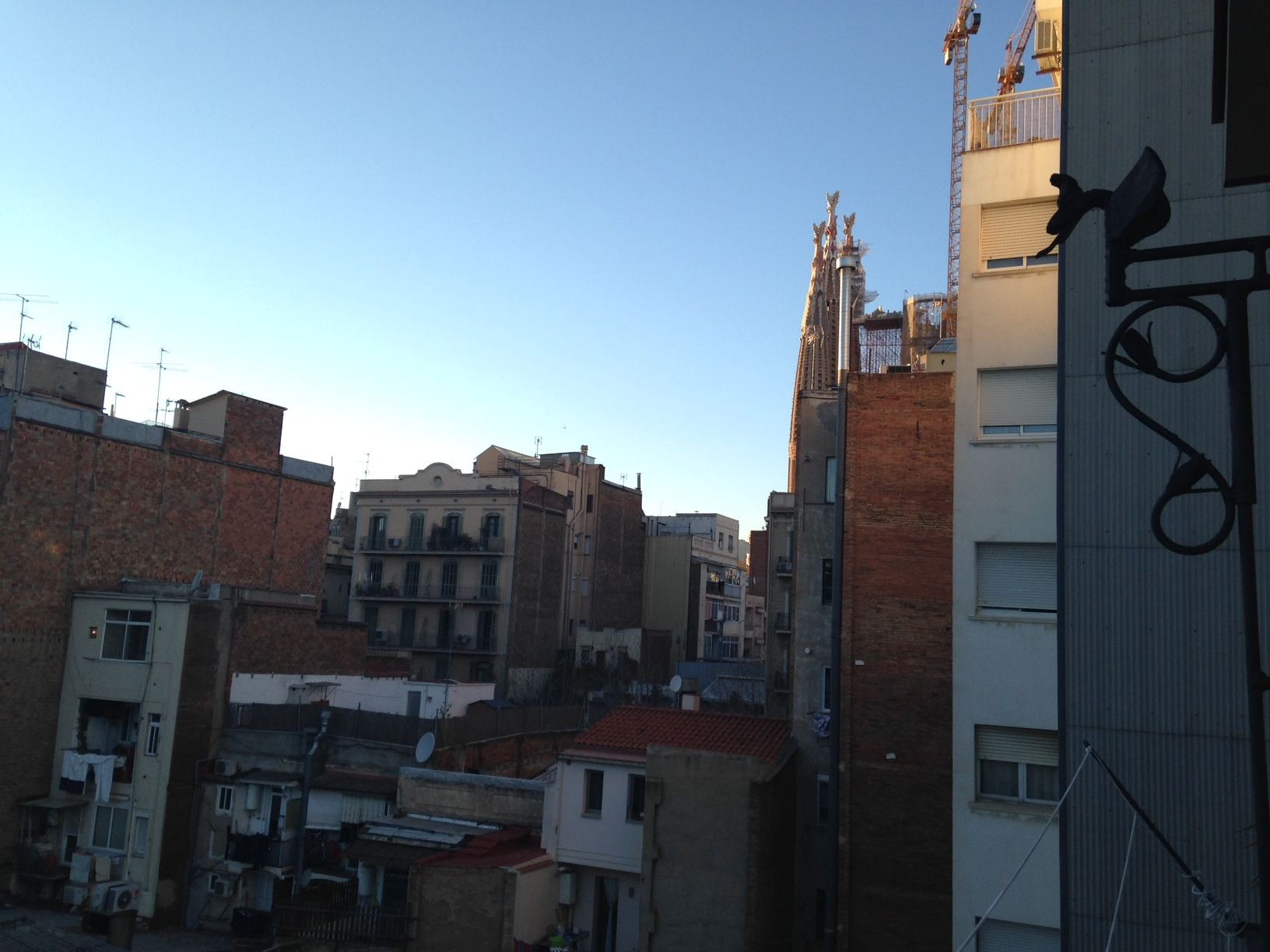 ok apartment sagrada familia view