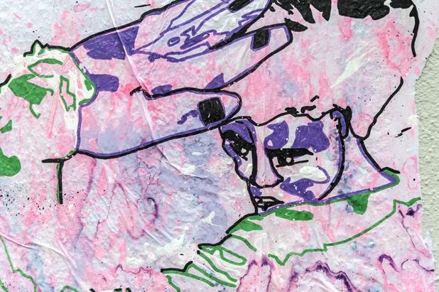 street art lausanne flon