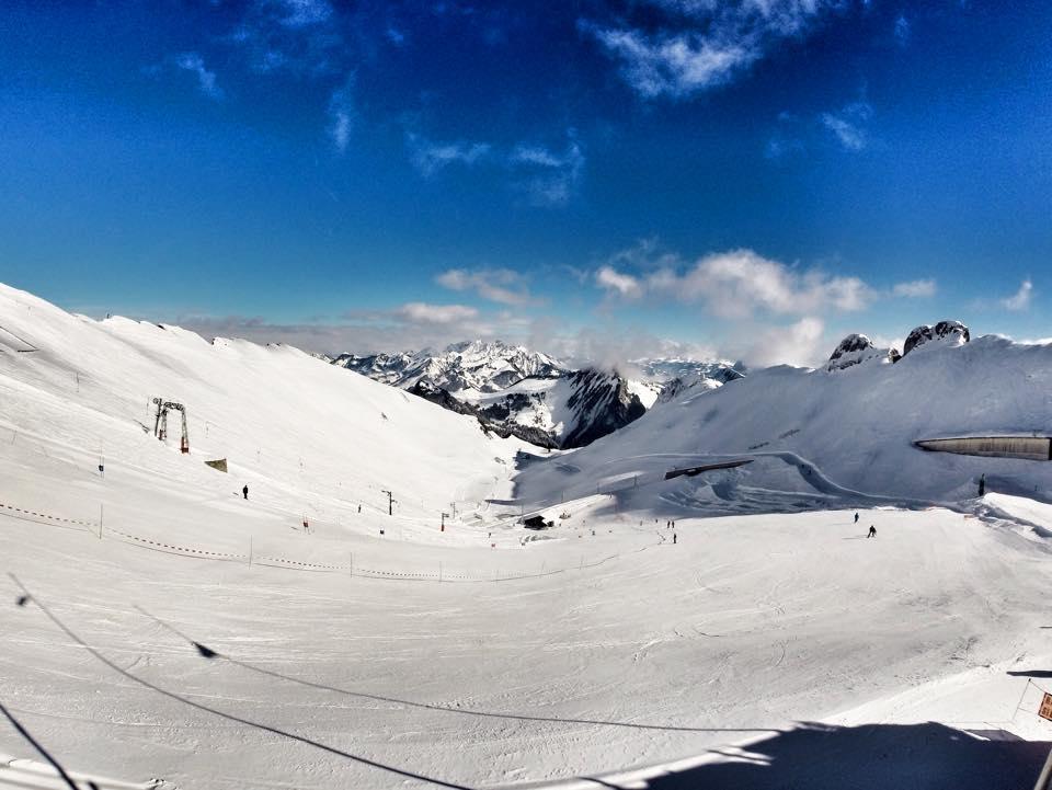 rocher de naye ski resort