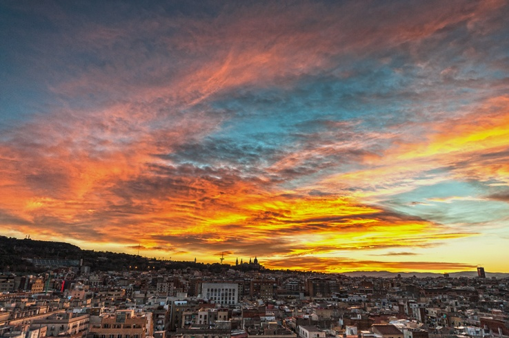barcelona insider tips sunset