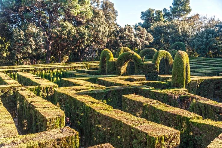 parc del laberint maze