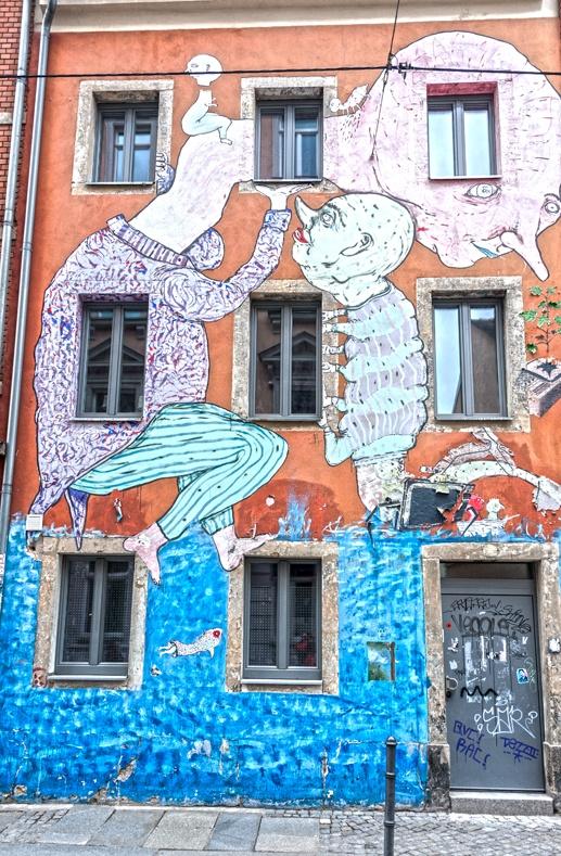 Dresden ema jones wall piece